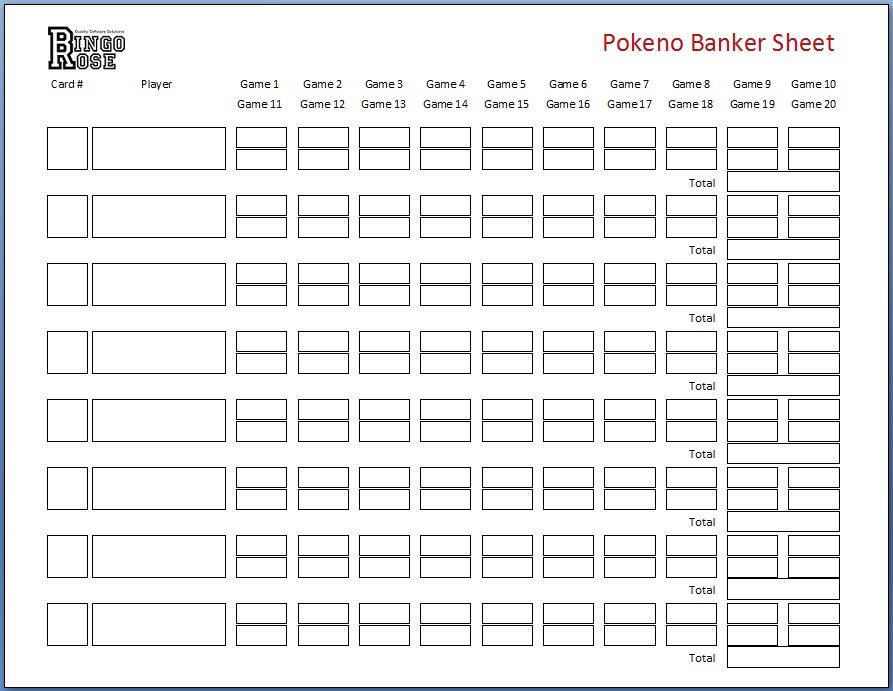 Banker sheet